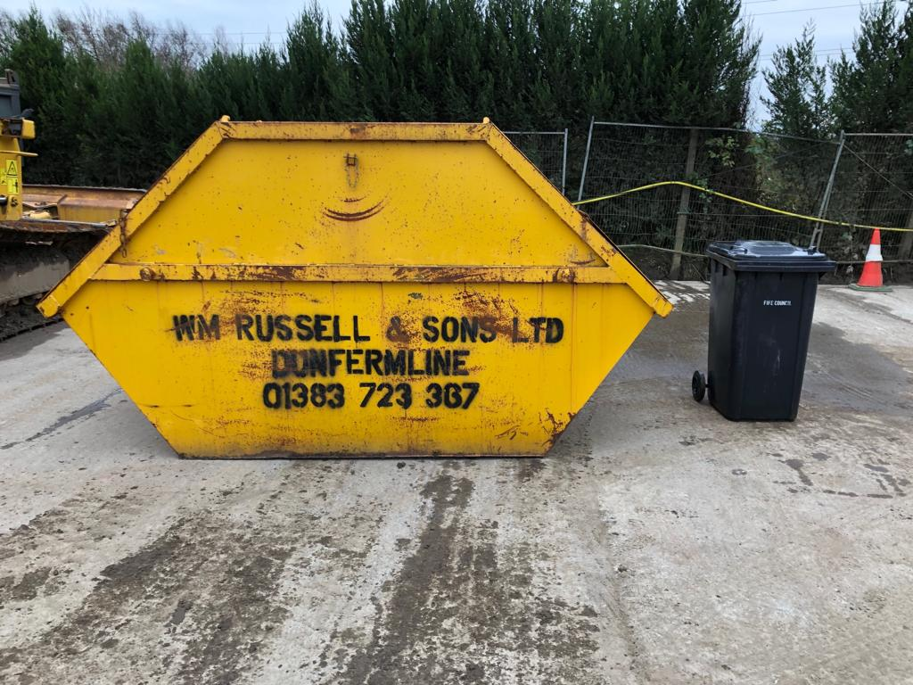Builders Skip (8 Yard) for hire
