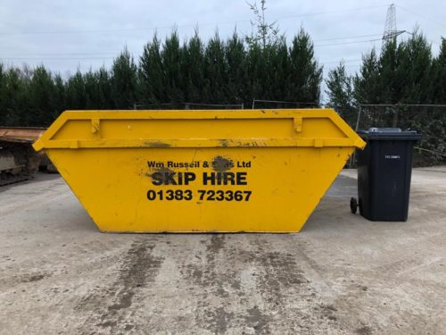 8 yard builders skip for hire